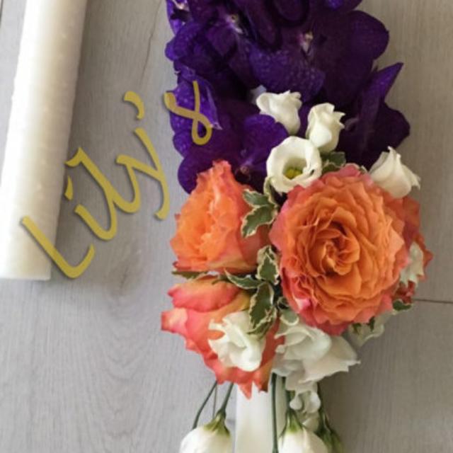 lumanare-nunta-trandafiri-orhidee