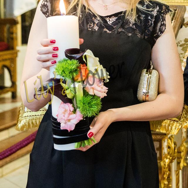 lumanare-nunta-cale-trandafiri-lisianthus