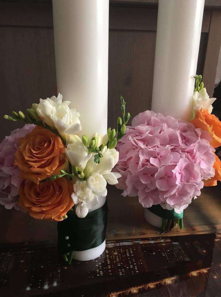 lumanari-nunta-hortensie-trandafiri-frezii