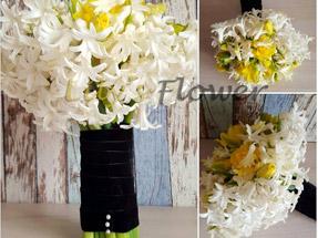 Buchet mireasa flori de primavara
